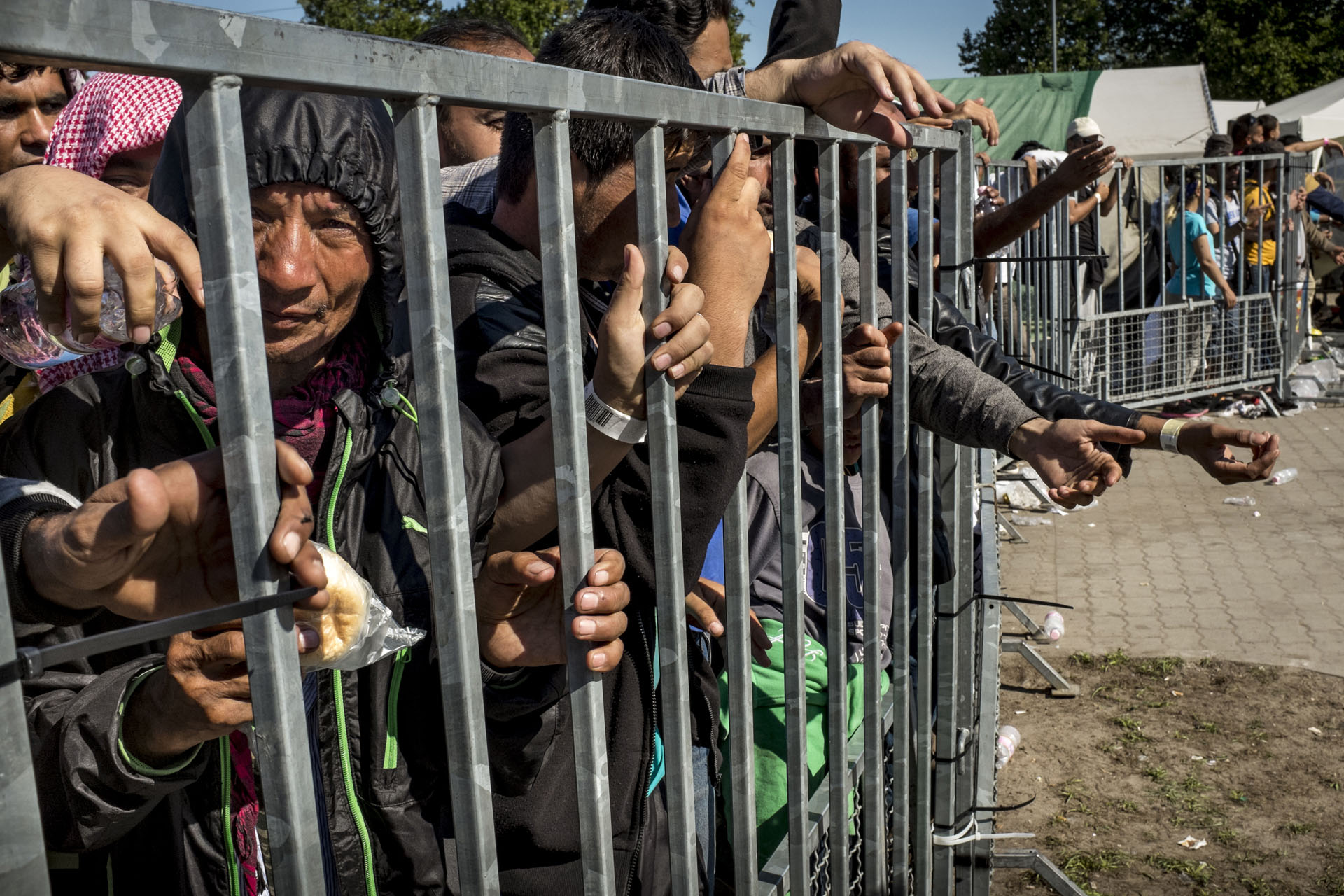 asylum seekers 8 More than a hundred asylum-seekers have been stranded at the crossings intake of them has slowed to about handful allowed entry a day at the roma and mcallen bridges, the families report.